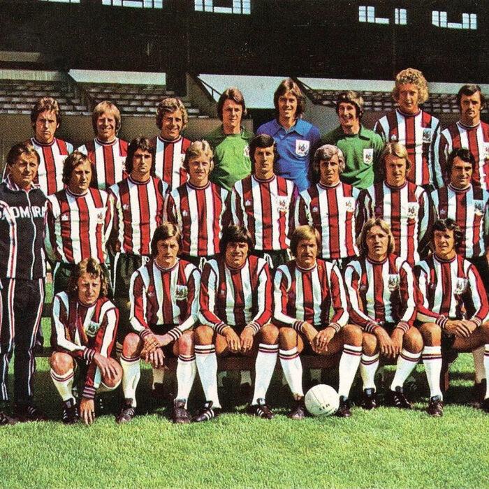 Sheffield United 1975-76 Maglia Storica Calcio