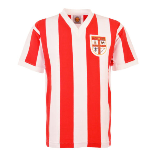 Stoke City 1962-63 Camiseta Retro Fútbol