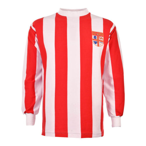 Stoke City 1971-72 Camiseta Retro Fútbol