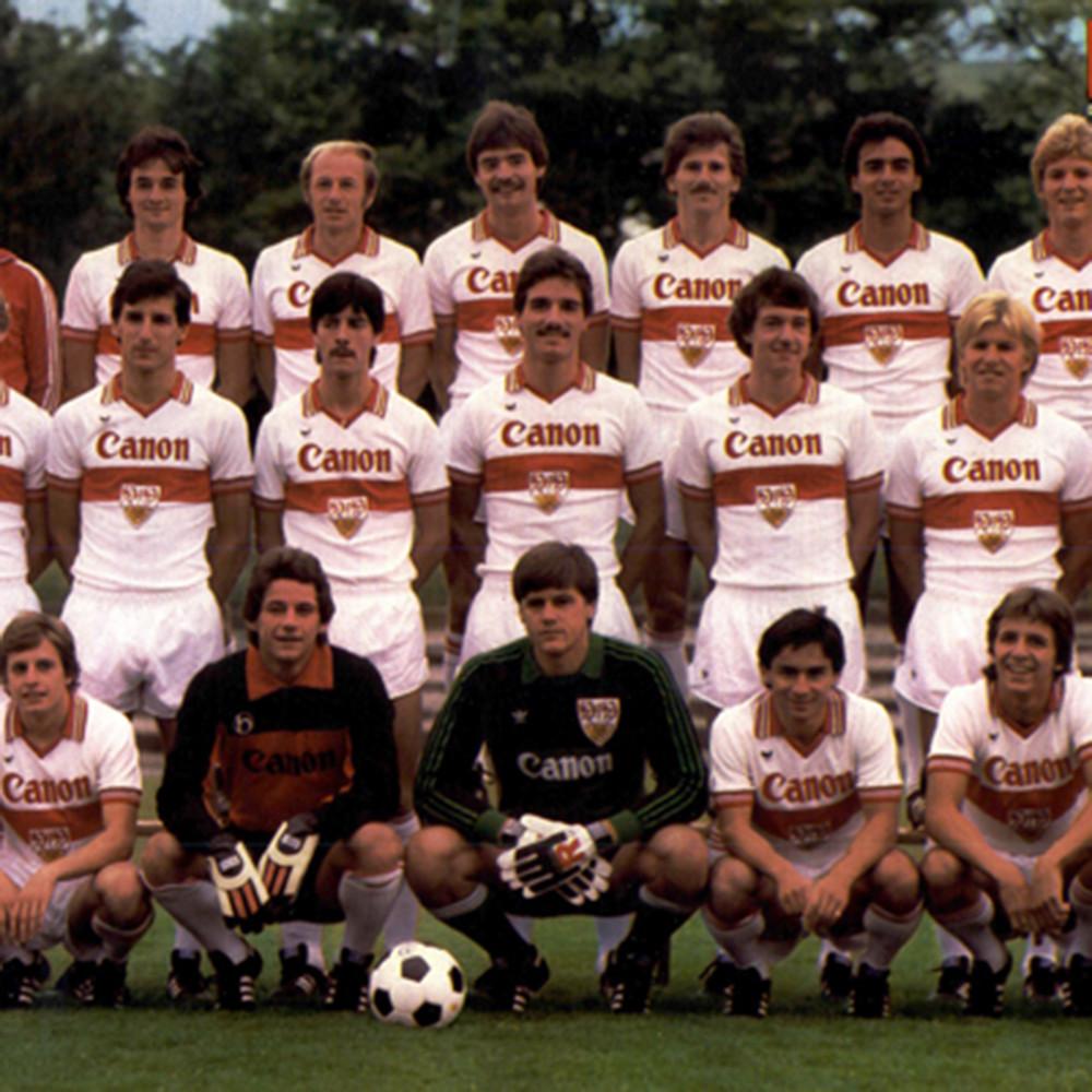 Stoccarda 1980-81 Maglia Storica Calcio