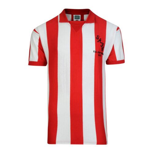 Sunderland 1972-73 Camiseta Fútbol Retro