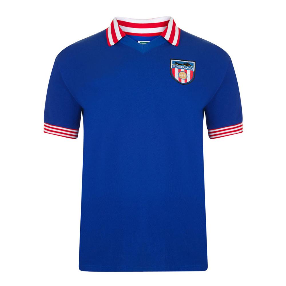 Sunderland 1978-79 Camiseta Retro Fútbol
