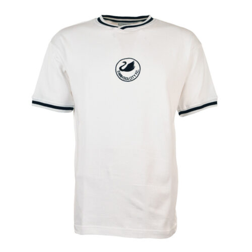 Swansea City 1981-82 Maillot Rétro Foot