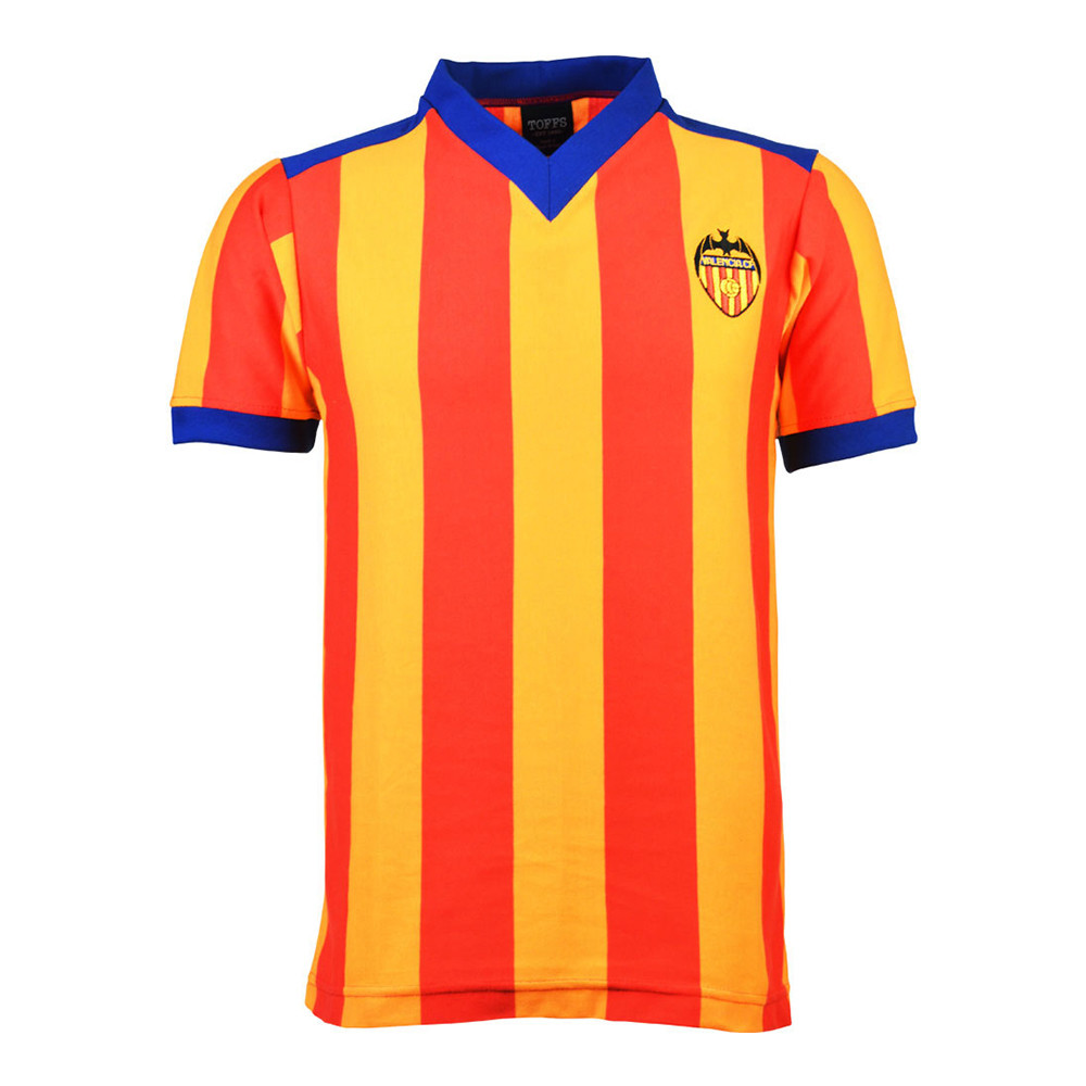 Valencia 1978-79 Retro Football Shirt