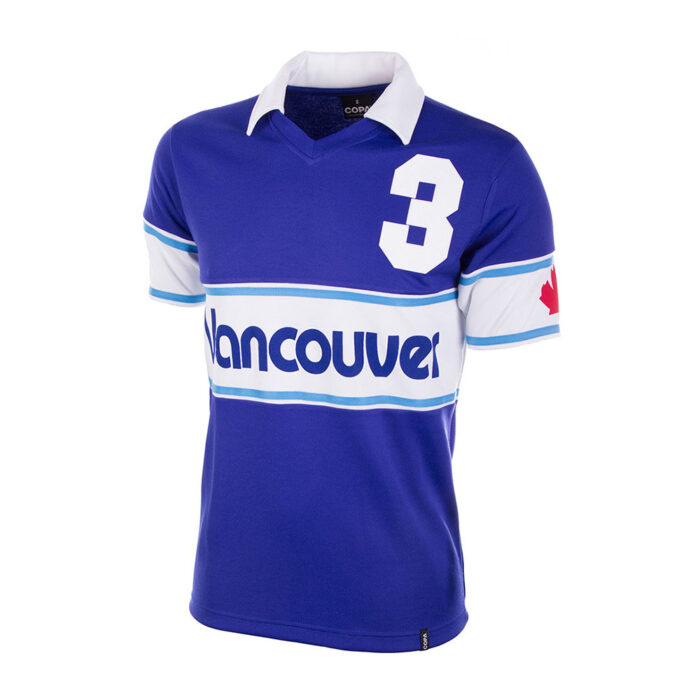 Vancouver Whitecaps 1980 Retro Football Shirt