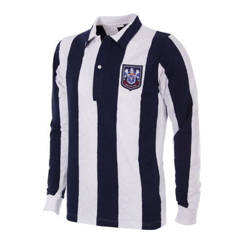 West Bromwich Albion 1953-54 Retro Shirt Football