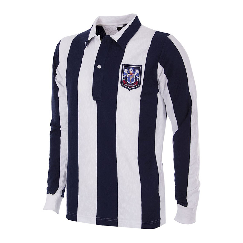 West Bromwich Albion 1953-54 Retro Shirt Football