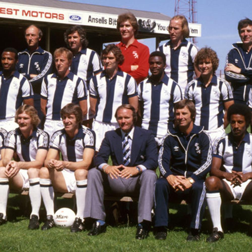 West Bromwich Albion 1978-79 Maglia Storica