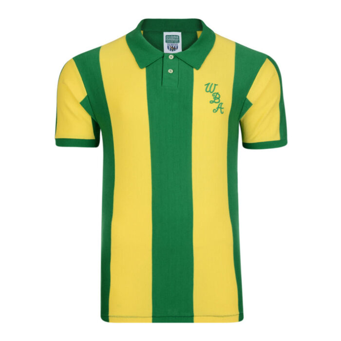 West Bromwich Albion 1979-80 Maillot Vintage Foot