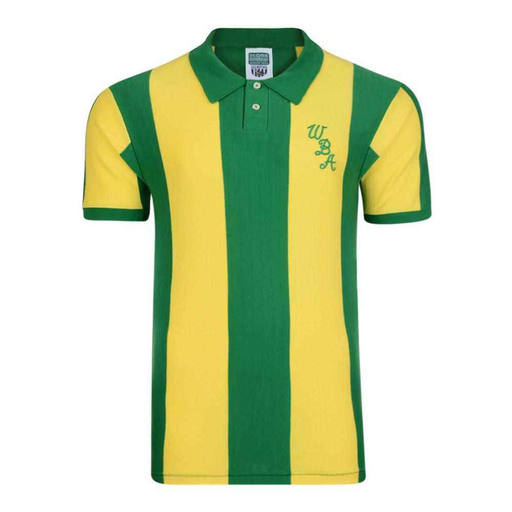 West Bromwich Albion 1979-80 Maglia Vintage Calcio