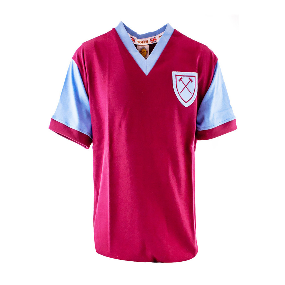 competitive price 978bf 011ee West Ham United 1957-58 Retro Football Shirt