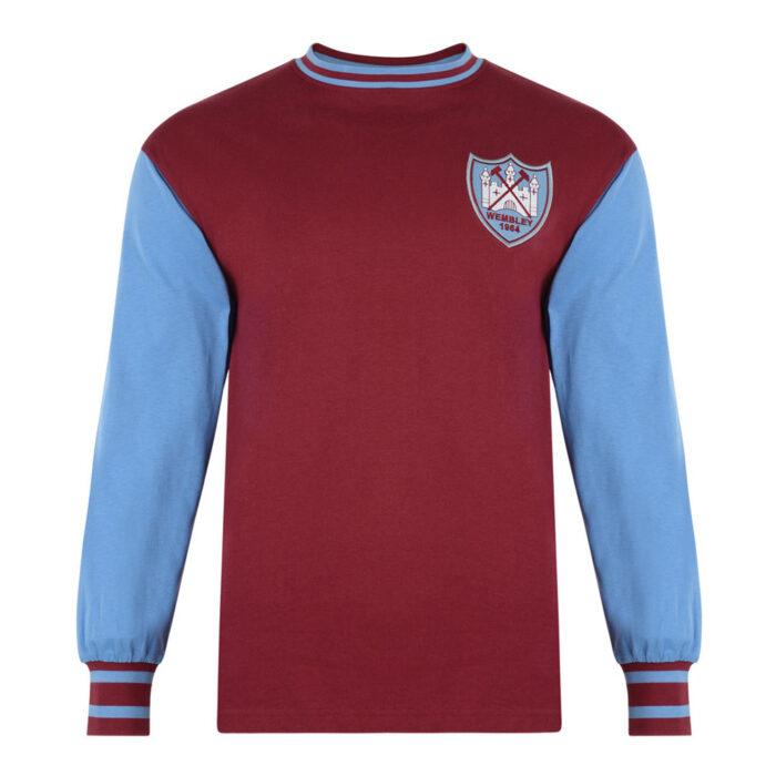 West Ham United 1963-64 Maglia Storica Calcio