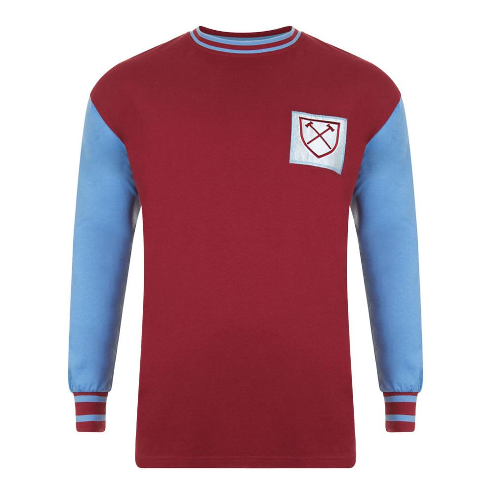 f6d2cbda9eeda West Ham United 1965-66 Camiseta Retro Fútbol - Retro Football Club ®