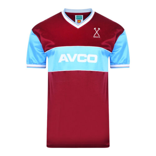 West Ham United 1984-85 Maillot Rétro Foot