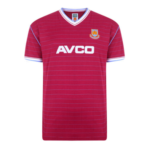 West Ham United 1985-86 Maillot Rétro Foot