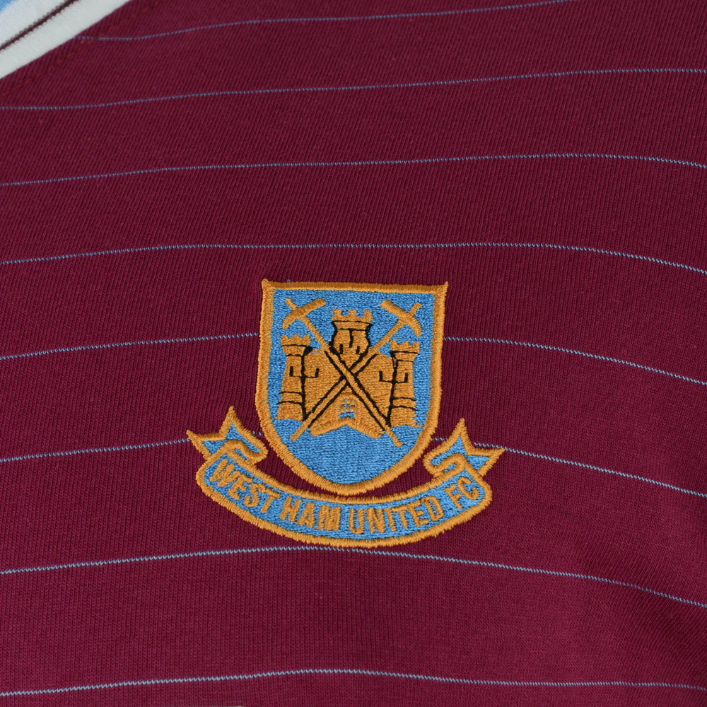West Ham United 1985-86 Retro Football Shirt