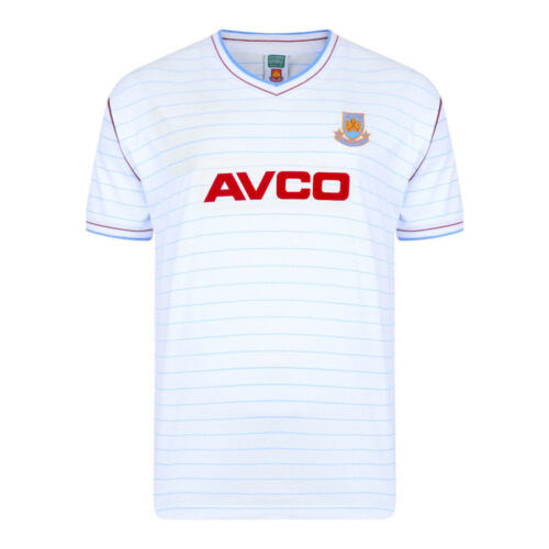 West Ham United 1985-86 Retro Football Jersey