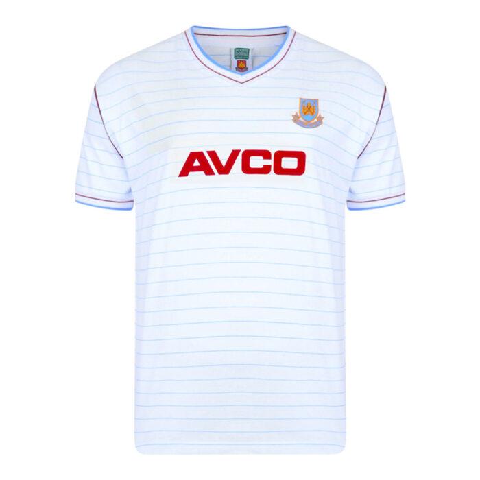 West Ham United 1985-86 Maglia Calcio Storica
