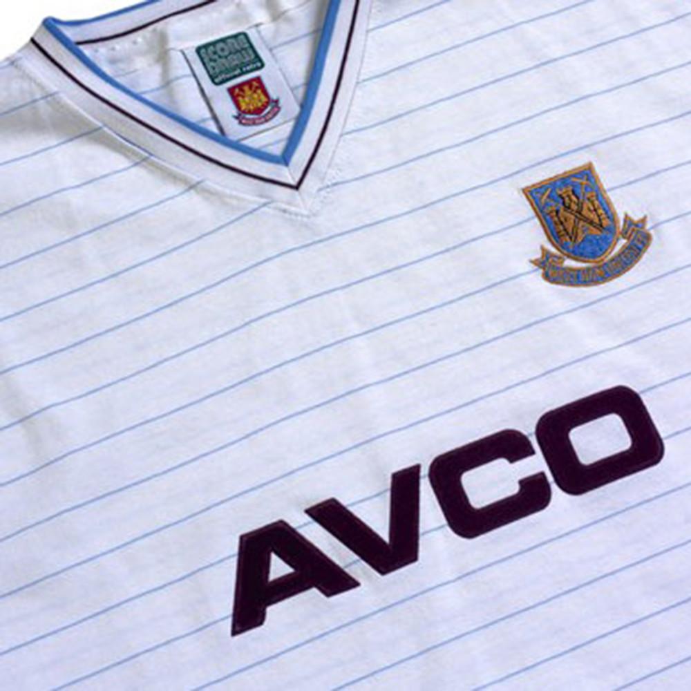 West Ham United 1985-86 Away Maglia Storica