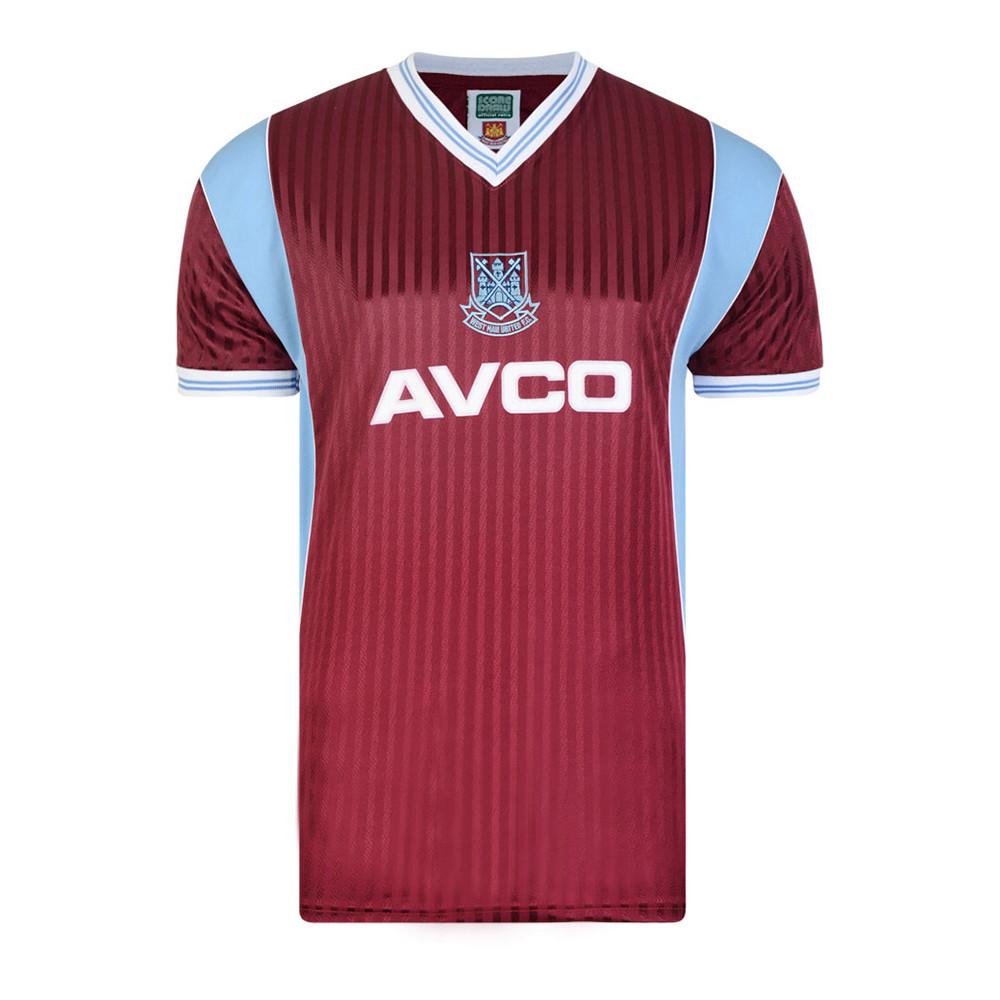 West Ham United 1988-89 Maglia Storica Calcio