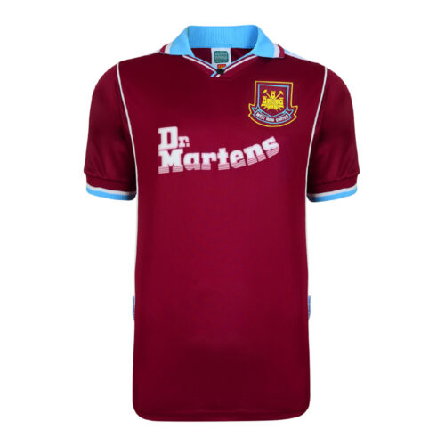 West Ham United 2000-01 Retro Football Shirt
