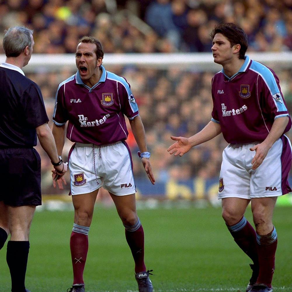 West Ham United 2000-01 Maglia Storica Calcio