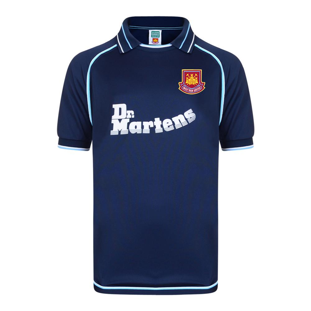West Ham United 2000-01 Retro Football Jersey
