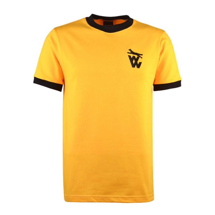 Wolverhampton Wanderers 1971-72 Camiseta Retro Fútbol