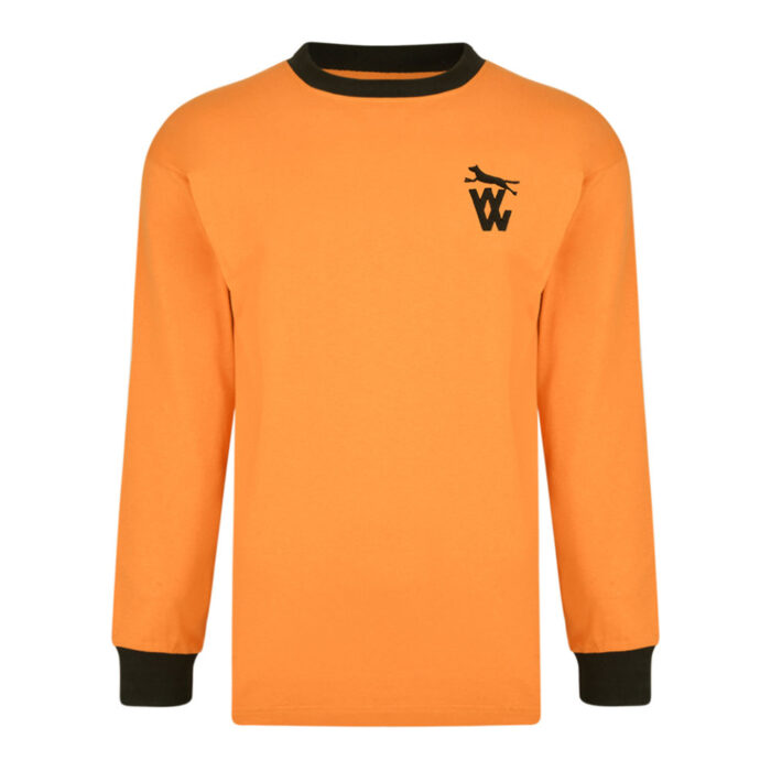 Wolverhampton Wanderers 1971-72 Maglia Storica Calcio