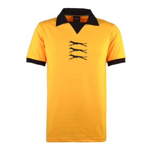 Wolverhampton Wanderers 1973-74 Maillot Rétro Foot