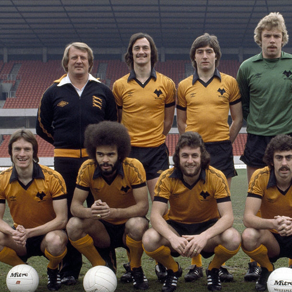 Wolverhampton Wanderers 1979-80 Maglia Storica