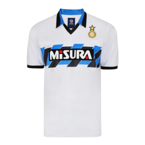 Inter 1990-91 Maillot Rétro Football