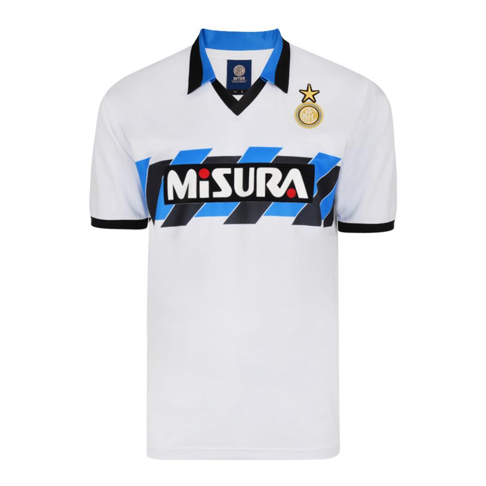 Inter 1990-91 Camiseta Fútbol Retro