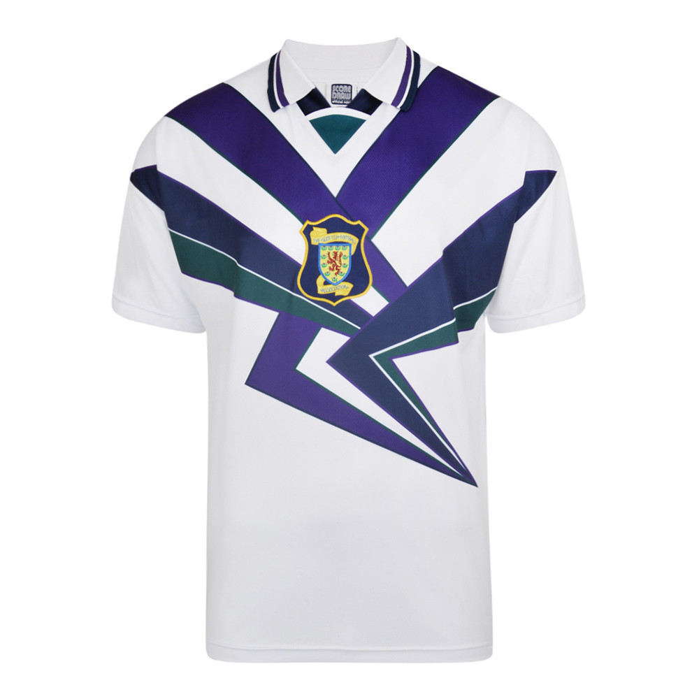 95b7d68538 Escocia 1996 Camiseta Fútbol Retro - Retro Football Club ®