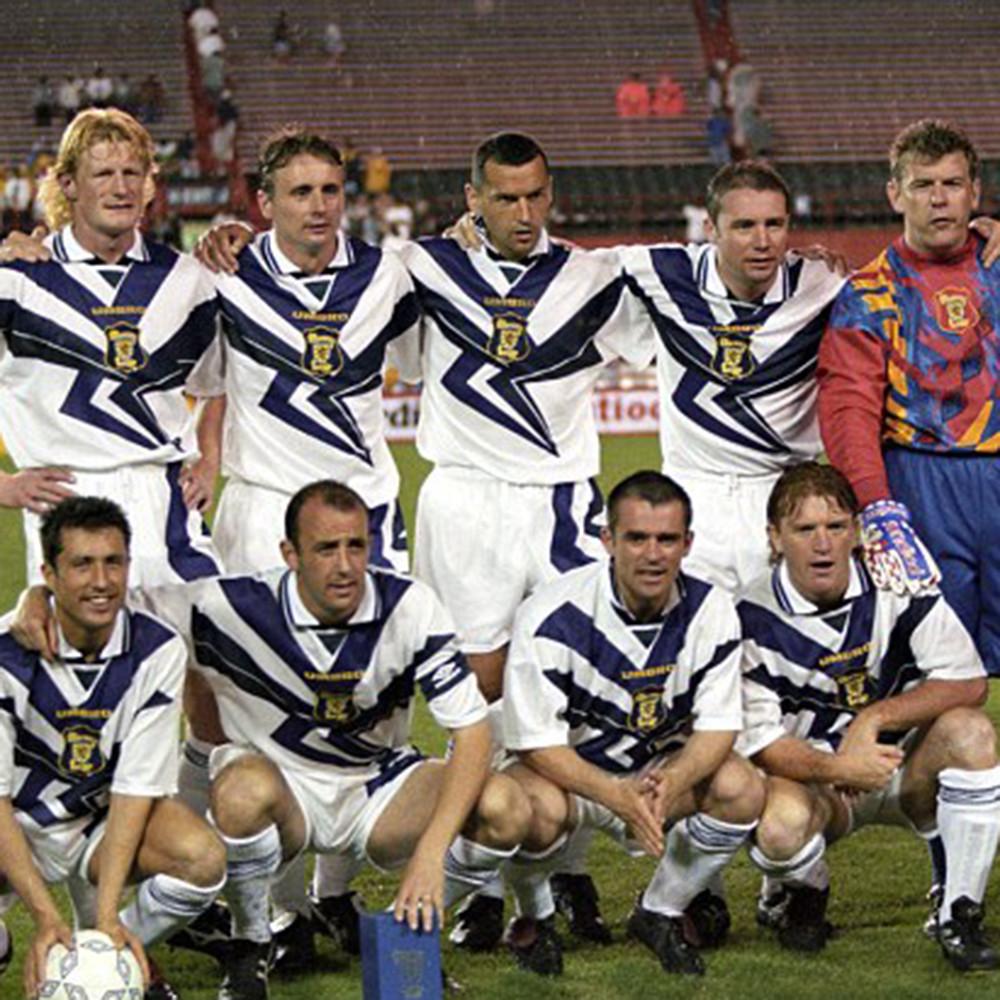 Scozia 1996 Maglia Calcio Storica