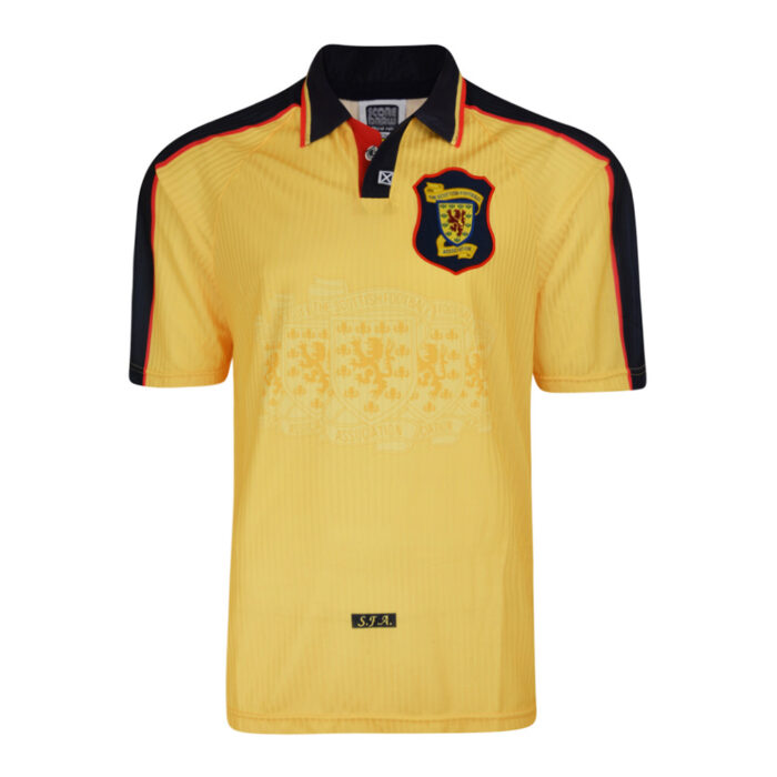 Scotland 1998 Retro Football Jersey