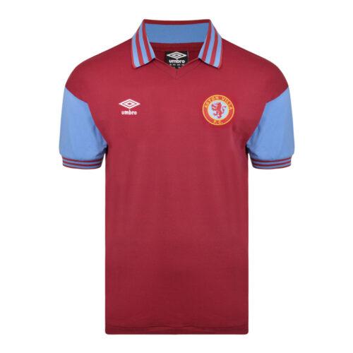 Aston Villa 1979-80 Camiseta Retro Fútbol