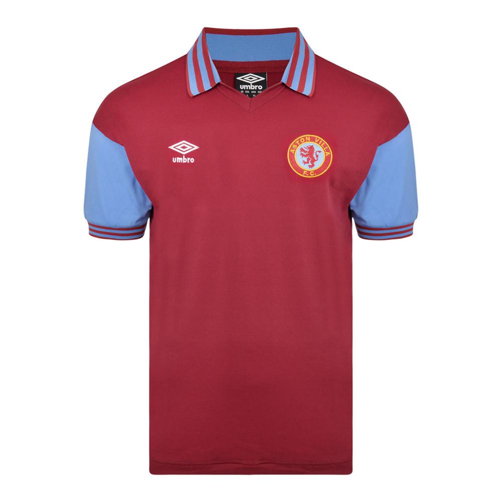 Aston Villa 1979-80 Maillot Rétro Foot