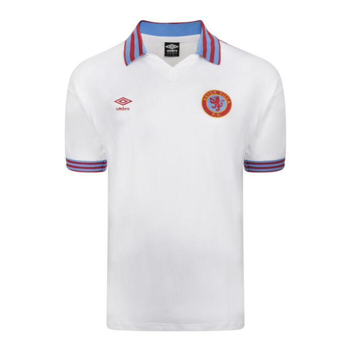 Aston Villa 1979-80 Maglia Calcio Storica