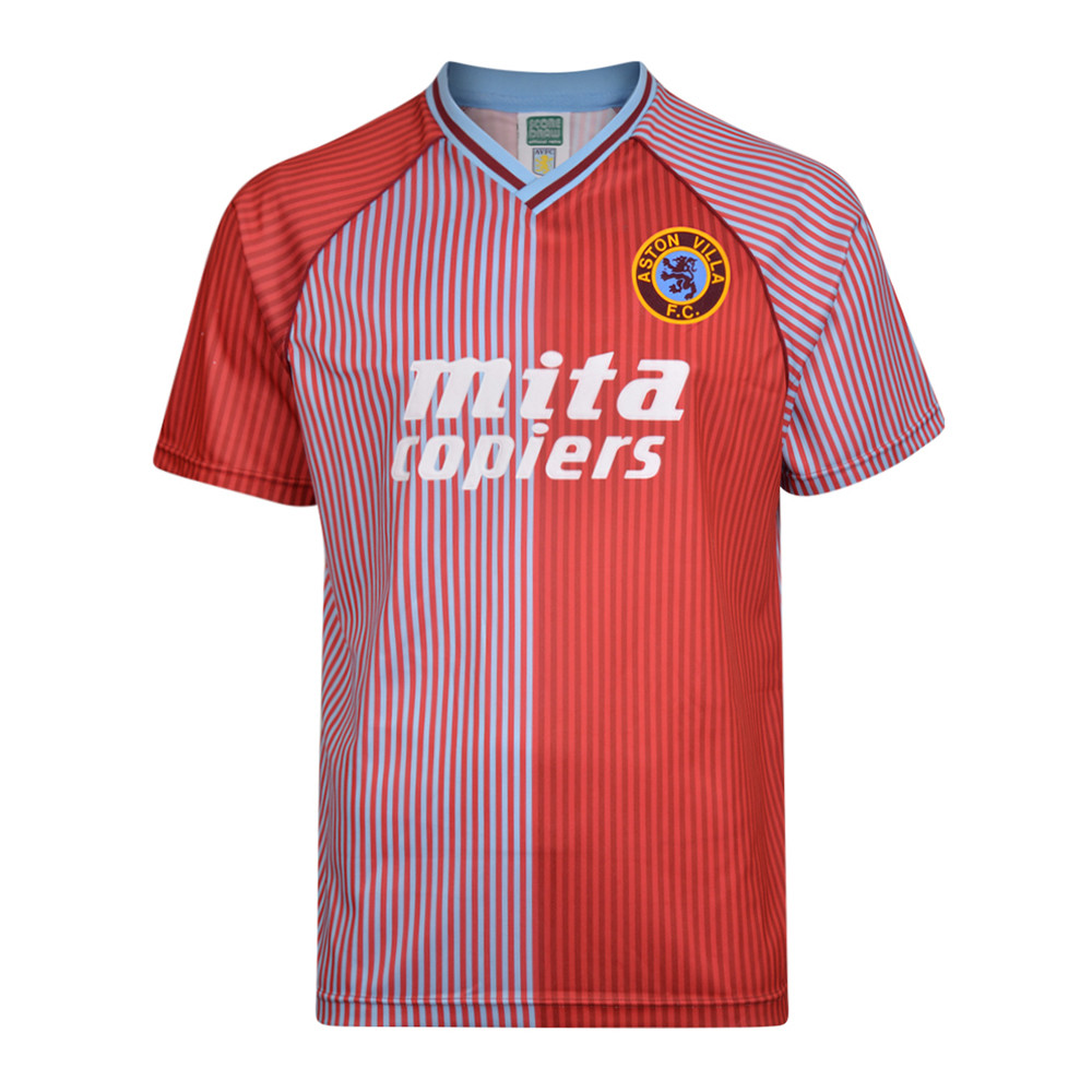 Aston Villa 1988-89 Maglia Storica Calcio