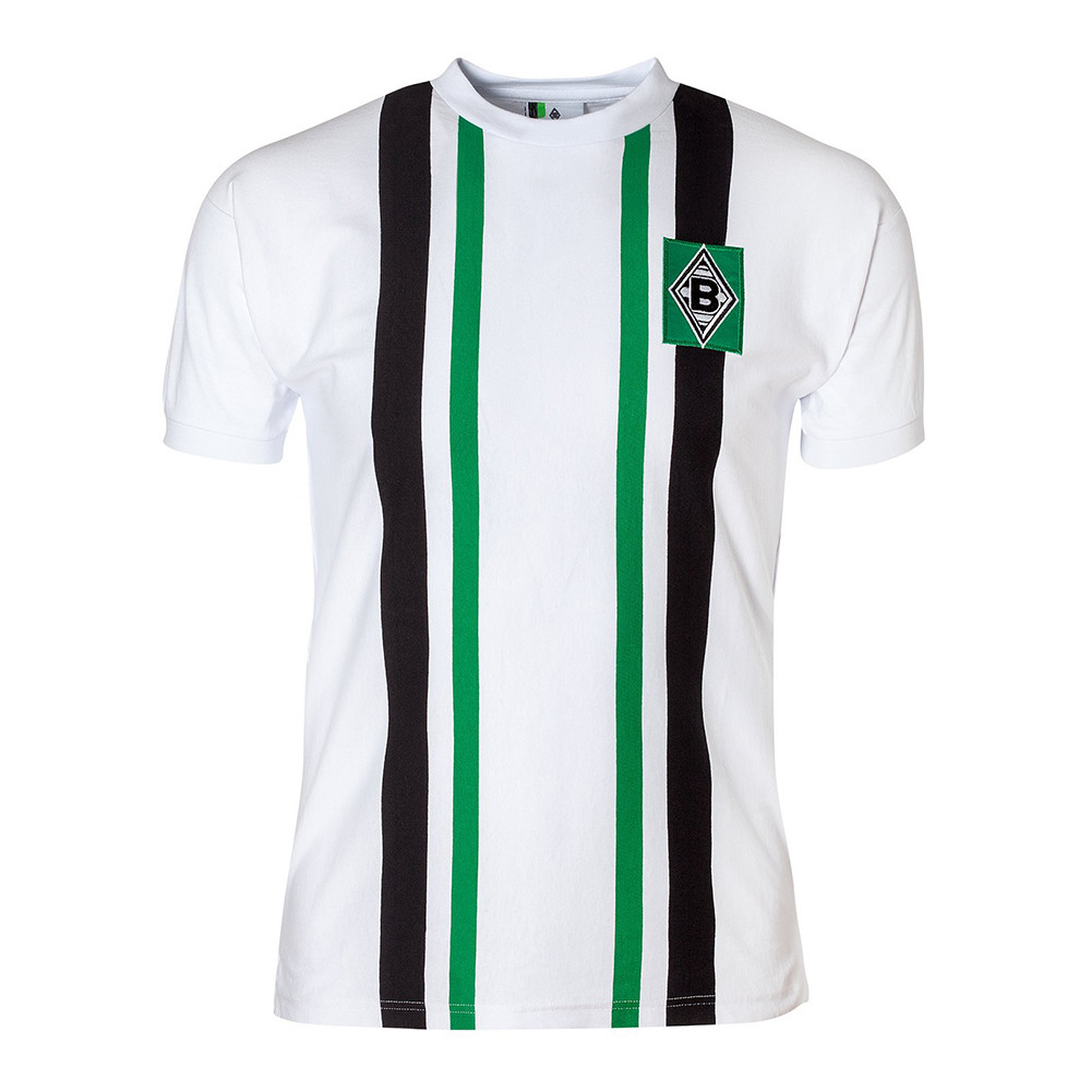 4001a5d60b5 Borussia Monchengladbach 1974 75 Retro Shirt Retro Football Club