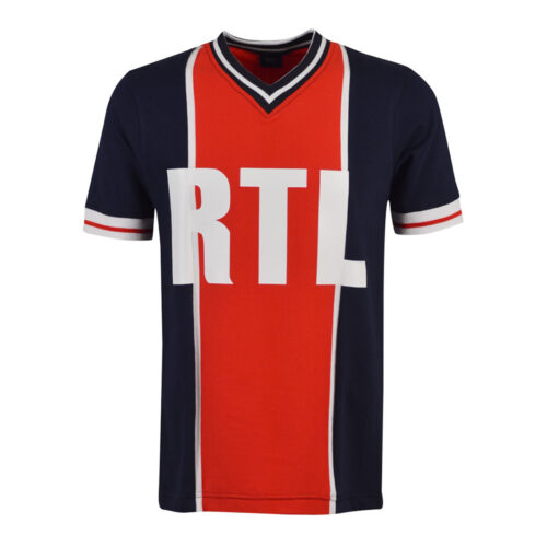 Paris Saint Germain 1976-77 Camiseta Retro Fútbol