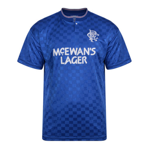 Rangers Glasgow 1988-89 Retro Football Shirt