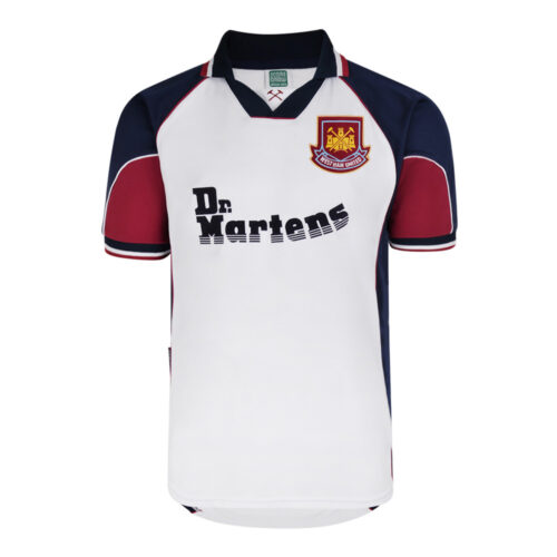 West Ham United 1999-00 Retro Football Shirt