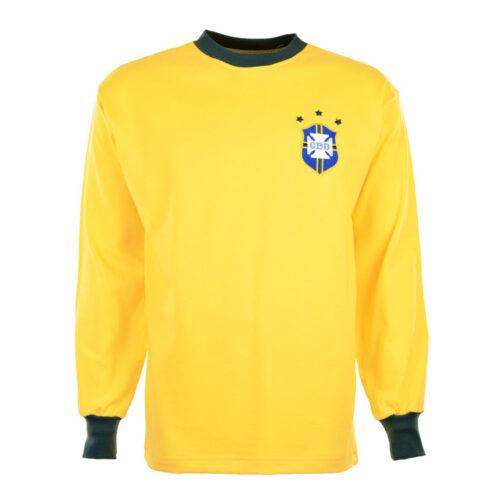 Brasil 1974 Camiseta Fútbol Retro