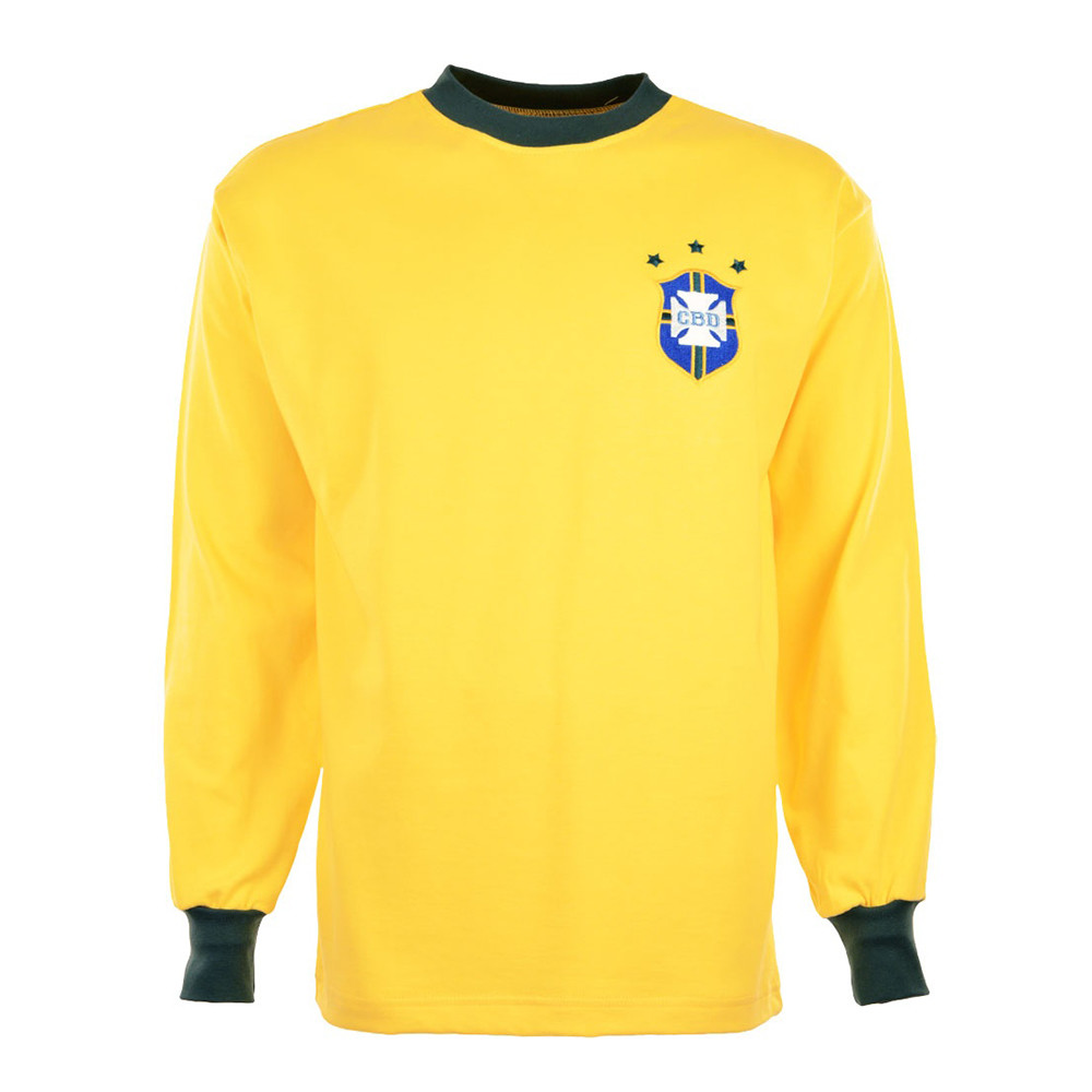 Brazil 1974 Retro Football Jersey