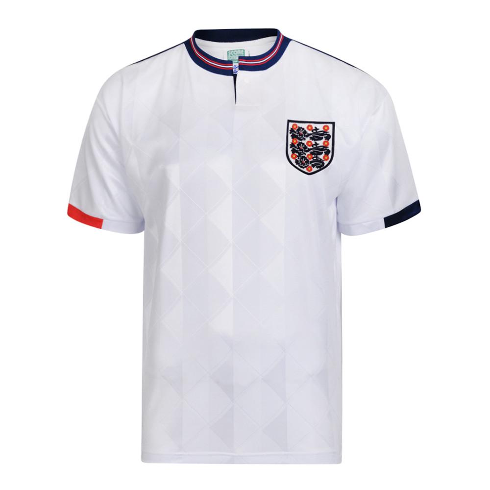 Inglaterra 1988 Camiseta Retro Fútbol