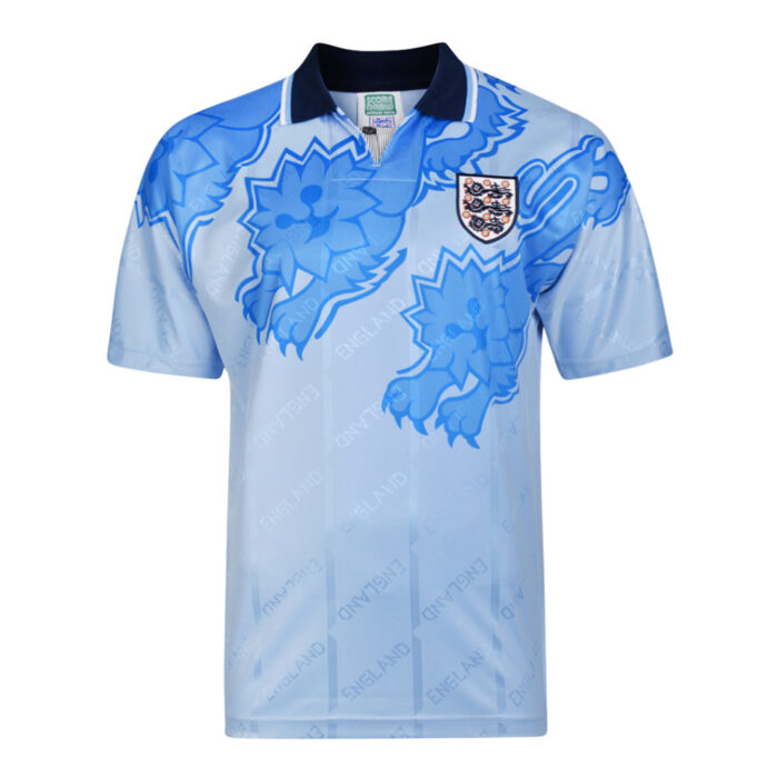 Angleterre 1992 Maillot Rétro Foot