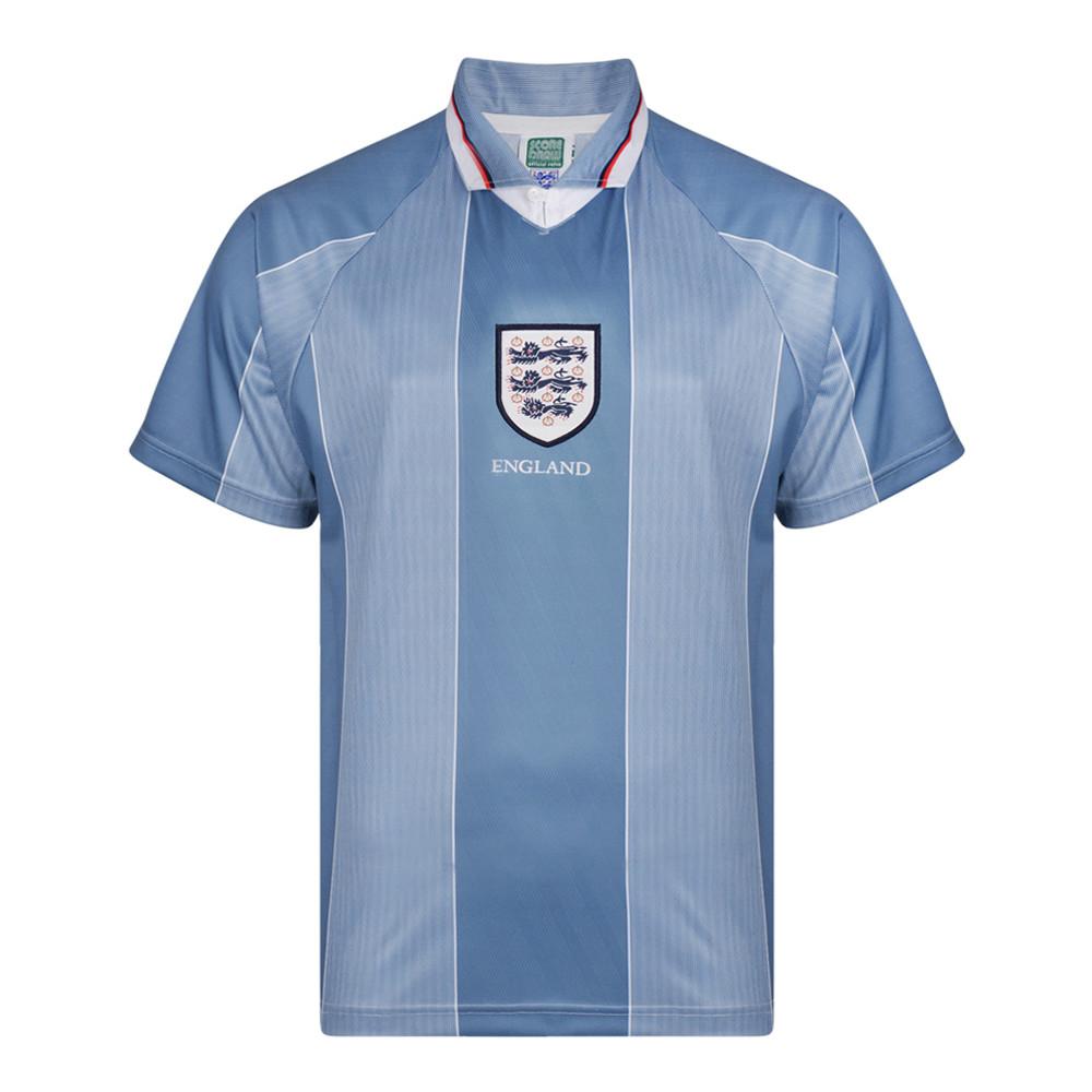 Angleterre 1996 Maillot Rétro Football