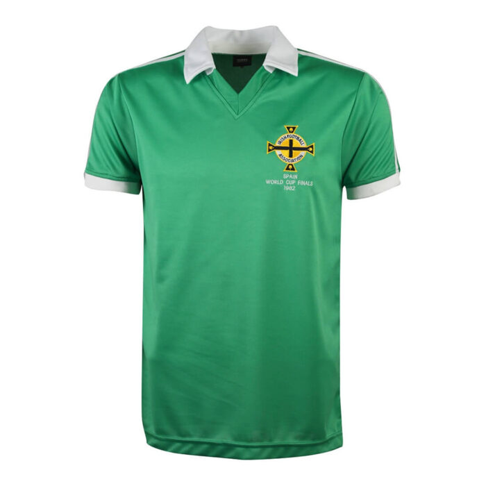 Irlanda del Nord 1982 Maglia Calcio Storica